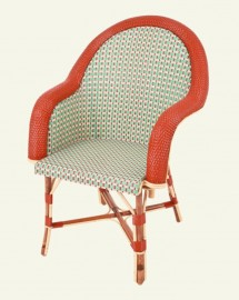 Wooven Rattan Armchair Camille - 1920s - On Order