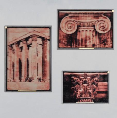 Ambrotypes Architecturaux - Set de 3