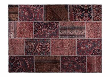 Tapis Patchwork Vintage - Bois de Rose