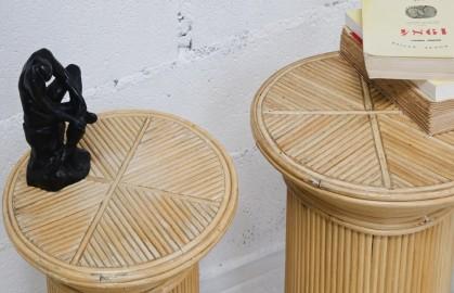 Paire de colonnes, meuble des années 40