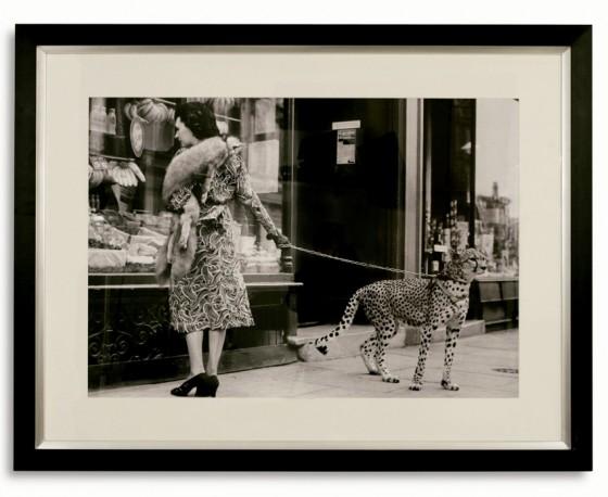 """Photo """"Femme au Guépard"""" - 132x102cm"""