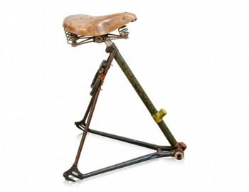 Tabouret Cycliste Vintage