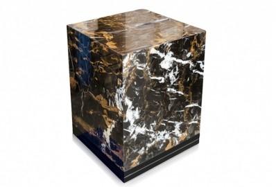 Guéridon Marble - Marbre Noir