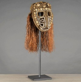 Masque Irian Jaya - I - Papouasie