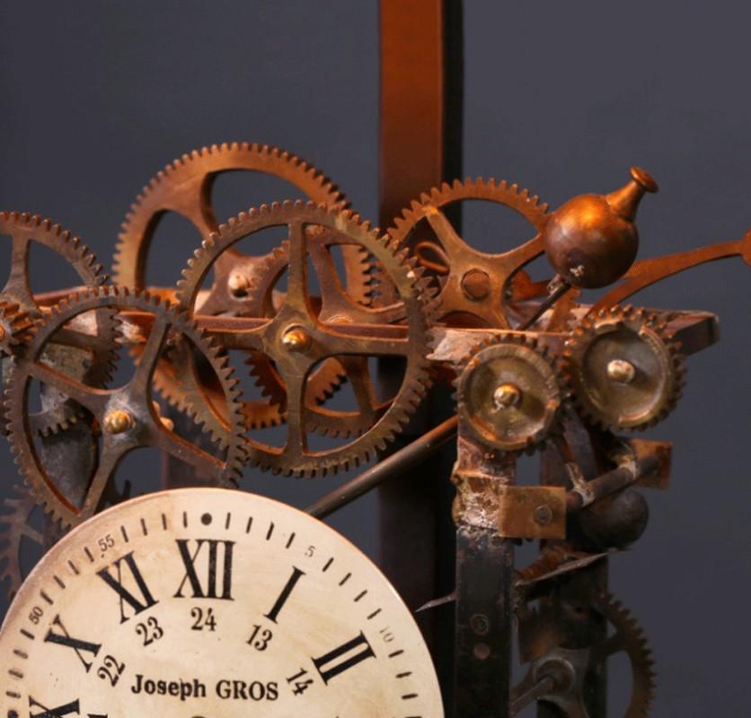 La lampe de bureau style industriel et rouages d - Lampe de bureau style industriel ...