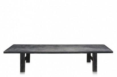 Grande Table Basse Vintage Noire - 225 cm