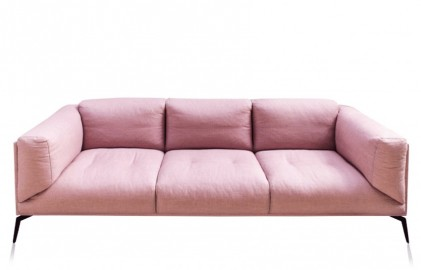 Roger Sofa - Pink Linen