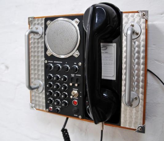 Hotel lobby phone