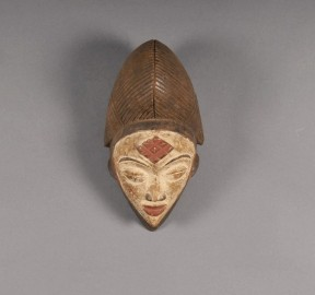 Masque tribal Punu - Gabon