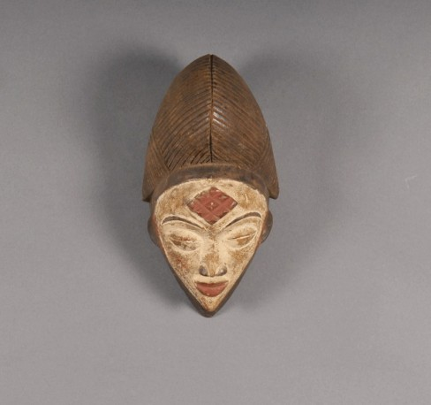 Masque tribal Punu - Gabon