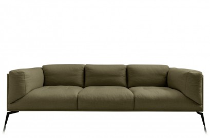 Roger Sofa - Olive Linen - Made To Order