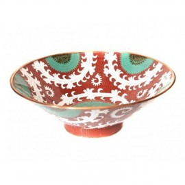 Large Bowl Cloisonné