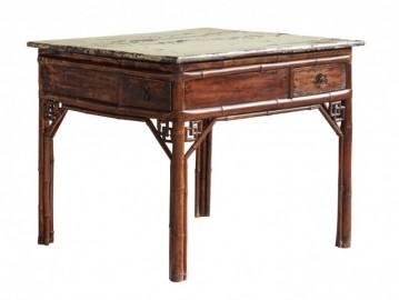 Ravissante Table Carrée - Vintage