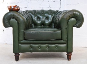 Fauteuil Chesterfield 1920