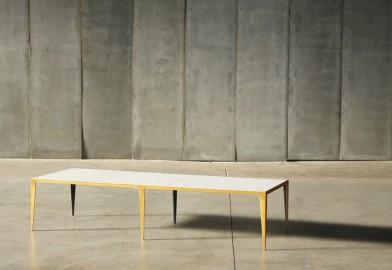 White Marble Coffee Table - Taïga