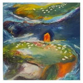"Oil On Canvas ""Brasparts"""