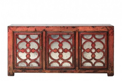 Red China Sideboard