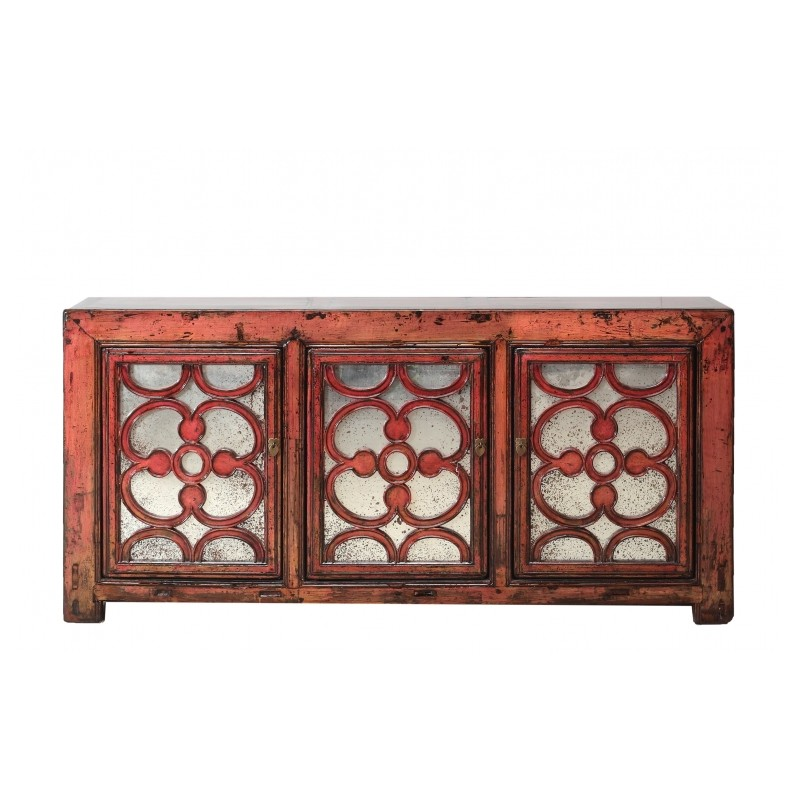 buffet buffet ancien chine antiquit chinoise meuble chinois mobilier chinois rouge. Black Bedroom Furniture Sets. Home Design Ideas