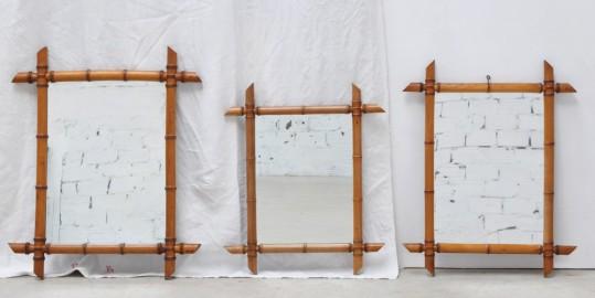 Miroir 1920 façon bambou - VENDU