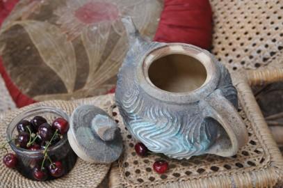 Théière en céramique - VENDU