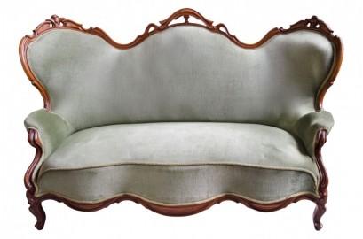 Napoleon III sofa loveseat