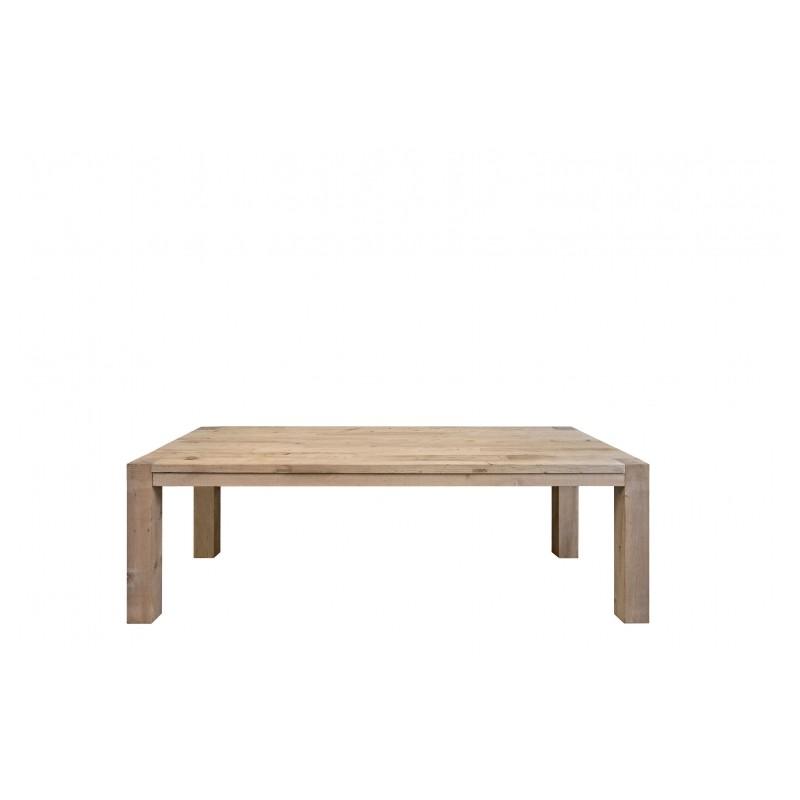 La table en bois brut ravoux une table de repas intemporelle conviviale et g n reuse - Proteger une table en bois brut ...