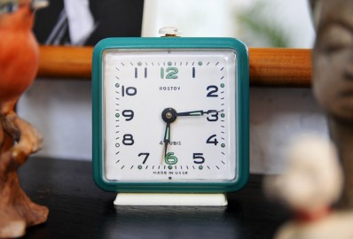 Vintage clock made in USSR