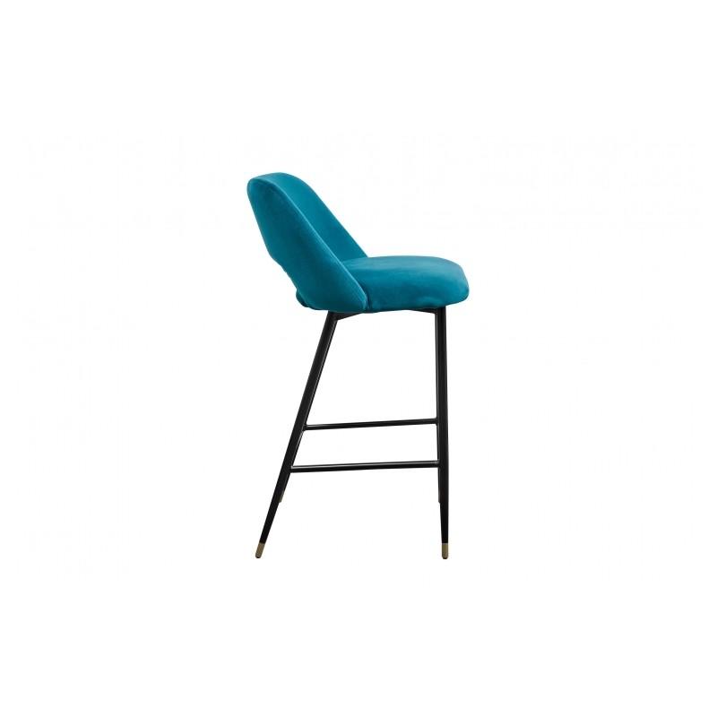 la chaise healey une chaise en velours dans le style des ann es 50 la finition irr prochable. Black Bedroom Furniture Sets. Home Design Ideas