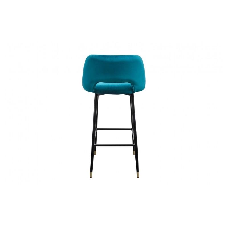 la chaise healey une chaise en velours dans le style des. Black Bedroom Furniture Sets. Home Design Ideas