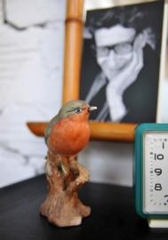 Petit oiseau en biscuit