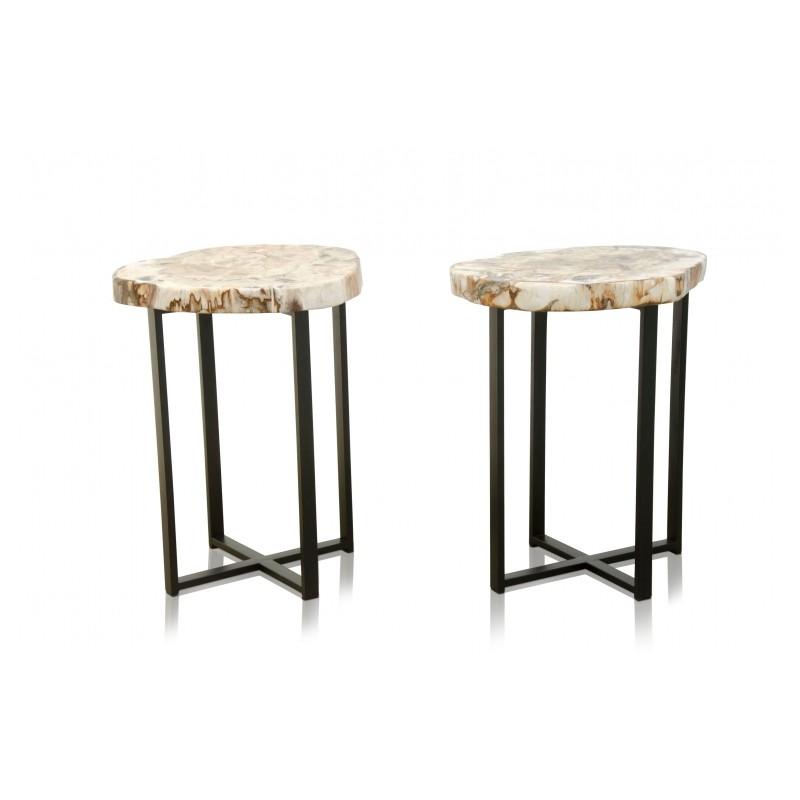 table d 39 appoint avec son magnifique plateau en bois. Black Bedroom Furniture Sets. Home Design Ideas