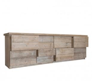Raw Wooden Dresser