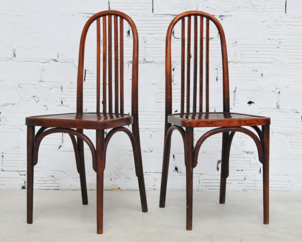 chaises thonet bistrot chaises vintage thonet meuble. Black Bedroom Furniture Sets. Home Design Ideas
