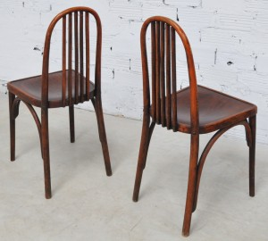 1950 Thonet chairs, Art Deco Style