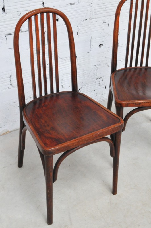 thonet vintage chairs art deco style 1930. Black Bedroom Furniture Sets. Home Design Ideas