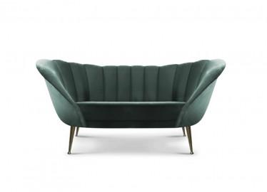 Arum Velvet Sofa