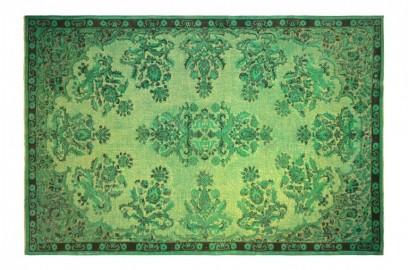 Turquoise Blue Anatolian Vintage Rug