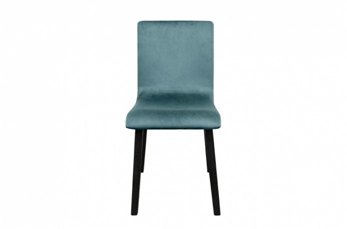 Steel Green Velvet Dining Chair