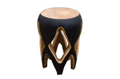 Table d'appoint Circus en bois de Suar
