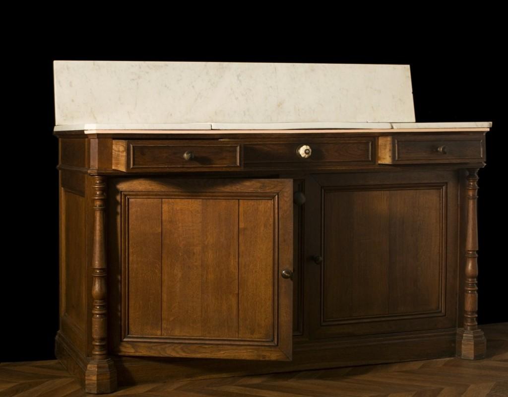 Meuble ancien salle de bains meuble r tro salle de bain meuble de style ch ne vasques en - Meuble de salle de bain vintage ...