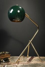 Lampe de bureau en laiton