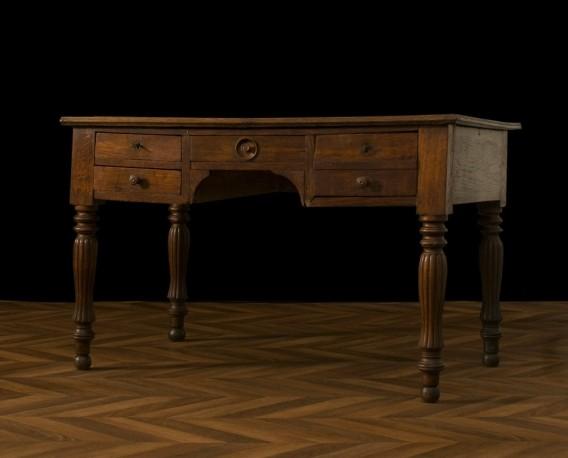 Bureau Ancien bureau, ancie, fin xixeme, bureau de travail, meuble ancien, authentique