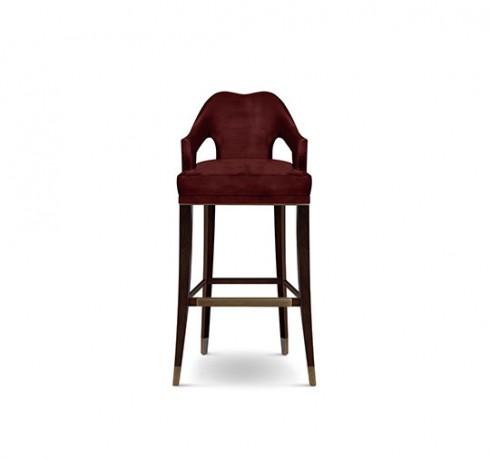 Chaise de bar Ava II