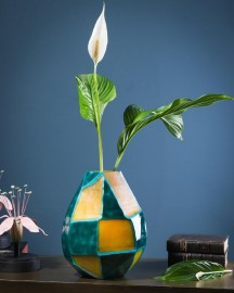 Vase Poseidon, style années 70