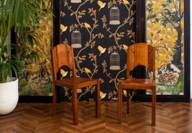 Chaises Art Déco, 30-40s