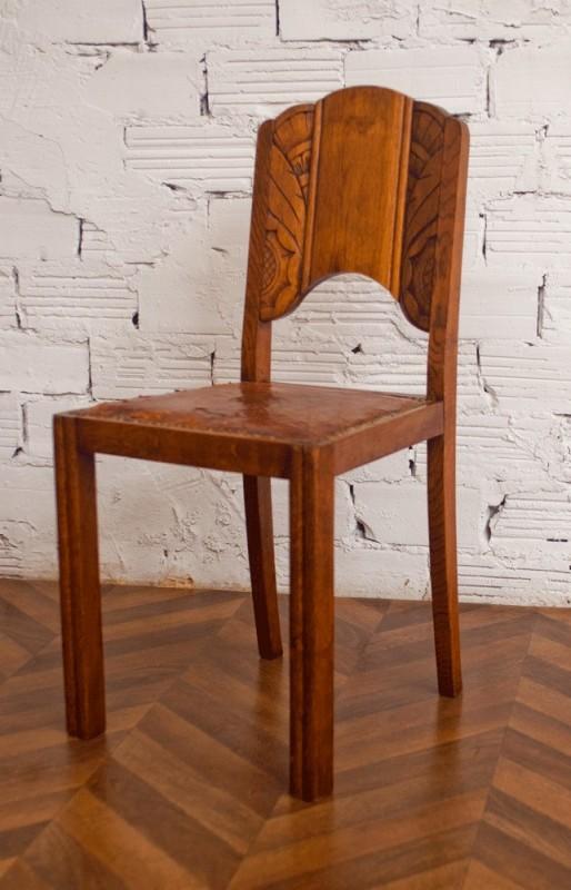 chaises vintage chaise vintage r tro ancienne art d co. Black Bedroom Furniture Sets. Home Design Ideas