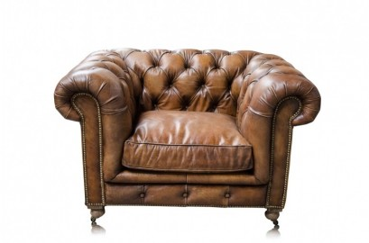 Fauteuil Chesterfield Old England Coffee