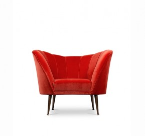 Fauteuil Velours Arum, Movie Star Design