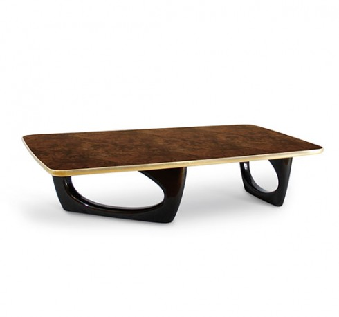 Groovy Magnificent Walnut Coffee Table A Superb Rectangular Coffee Table Inspired By Atomic Age Design Machost Co Dining Chair Design Ideas Machostcouk