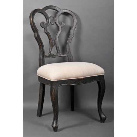 Louis XVI Style Chairs, a pair